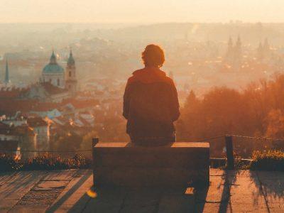 Freiheit und Entspannung beim alleine reisen