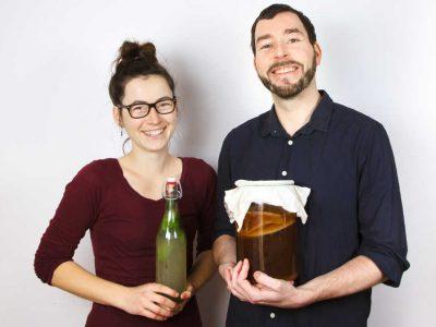 Lisa und Björn vom Zentrum für Fermentation Leipzig