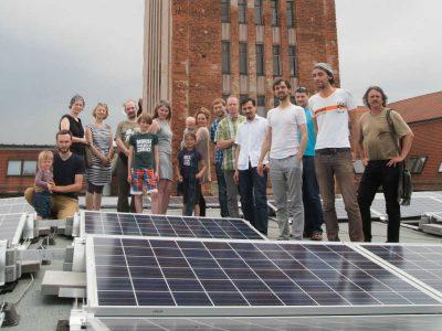 Energiegenossenschaft Leipzig Solaranlage