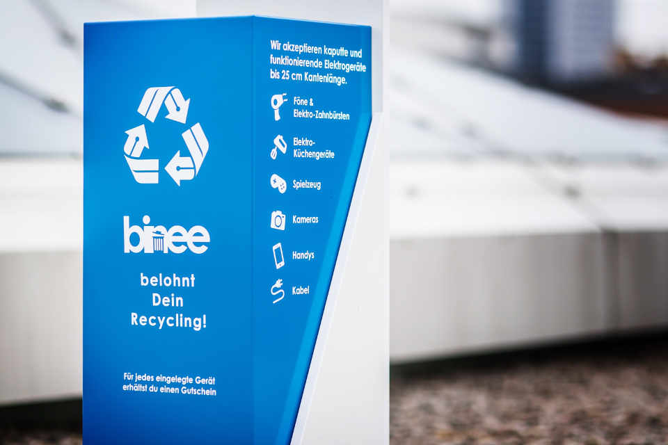 binee recycling box