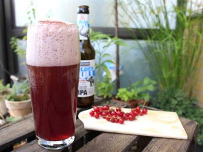 Bier Cocktail mit Pale Ale